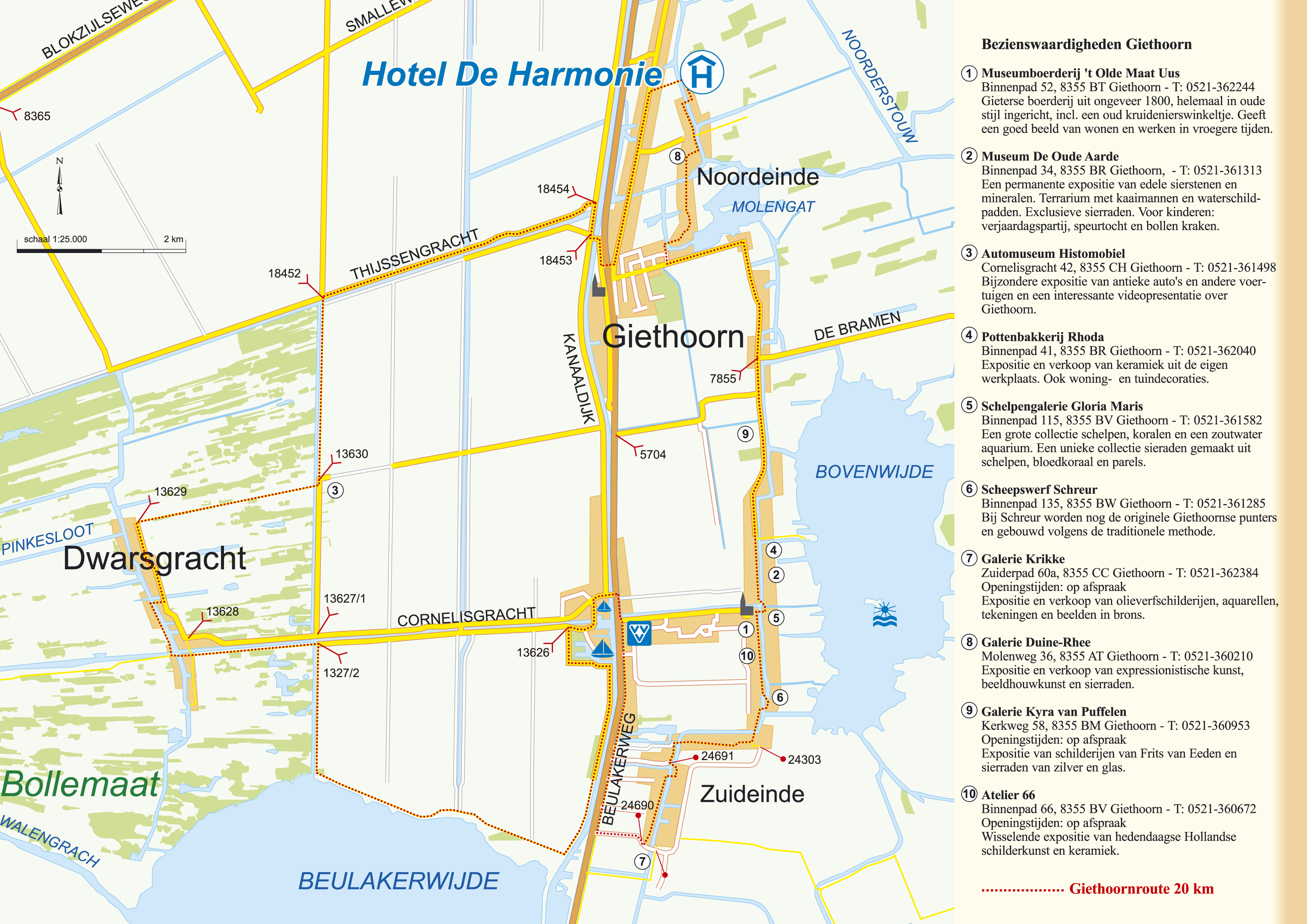 Foto 12 van het album Omgeving De Harmonie en Giethoorn